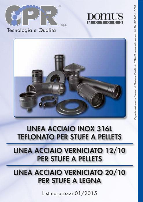 Linea acciaio inox 316L teflonato per stufe a legna