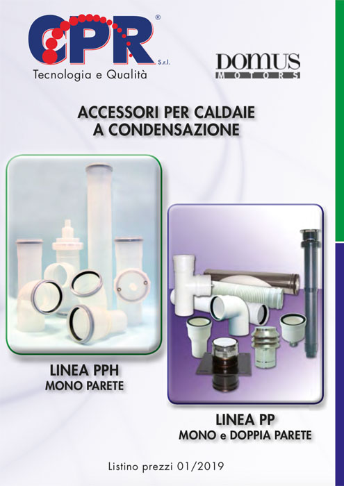 Accessories for condensing boilers 01/2019