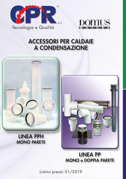 Accessori per Caldaie a condensazione 01/2019