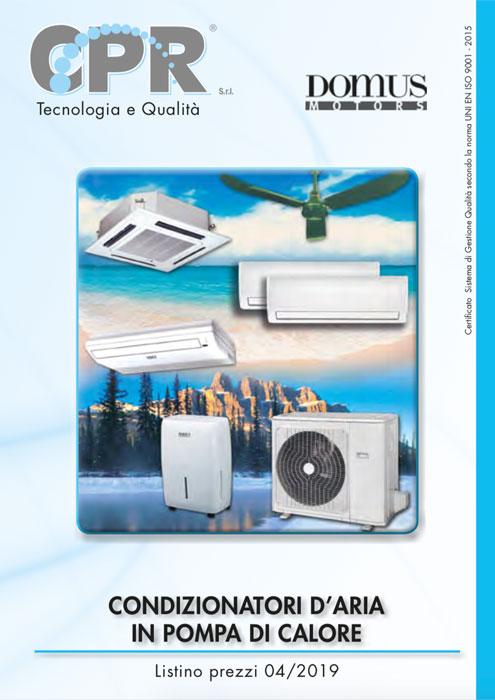 Condizionatori d'aria in pompa di calore Domus Motors
