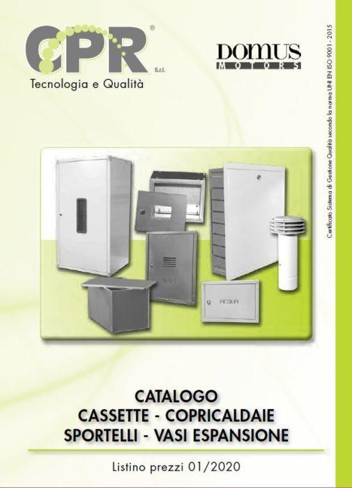 Cassette, copricaldaie, sportelli, vasi espansione 01/2020