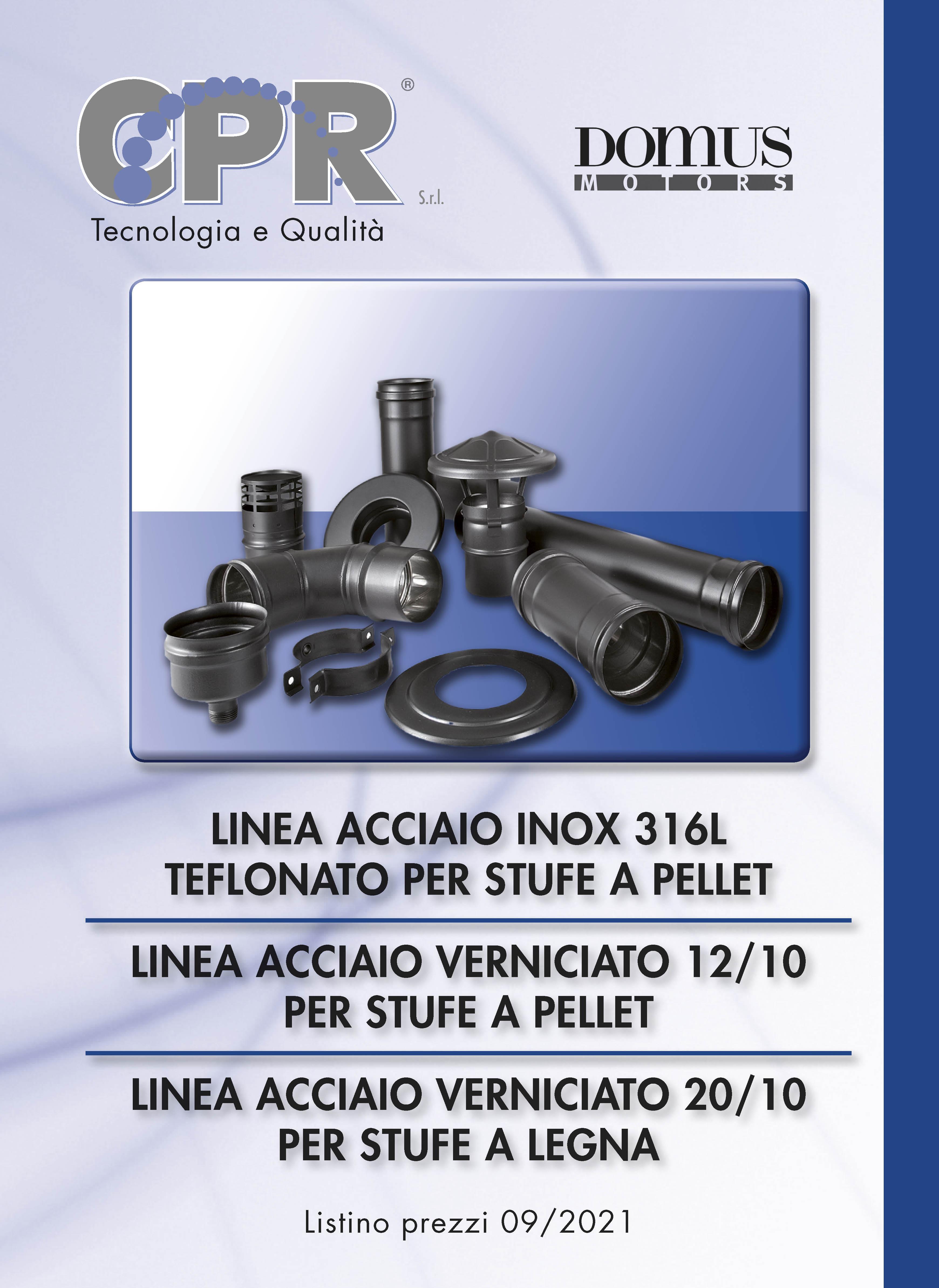 Catalogo pellet e acciaio verniciato per stufe a legna 01/2021